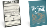 Knock Knock Self Therapy Pad & 'Serious Me Time' Inner-Truth Journal