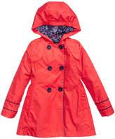 S. Rothschild Hooded Trench Coat, Little Girls