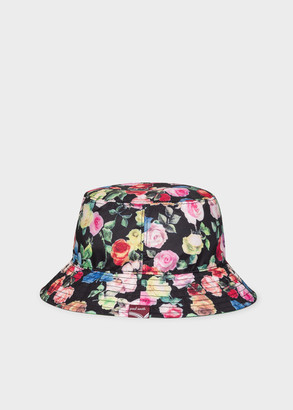 Paul Smith Women's 'Archive Rose' Print Bucket Hat