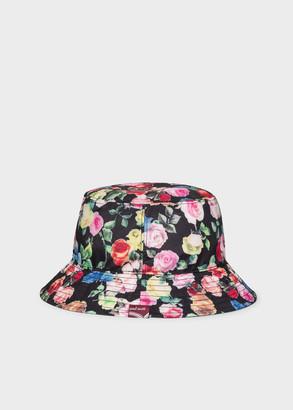 Paul Smith Women's 'Archive Rose' Print Bucket Hat