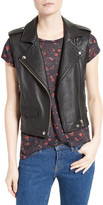 IRO Harri Leather Moto Vest