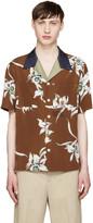 Valentino Brown Floral Shirt