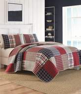 Nautica Ansell Patchwork Plaid Quilt