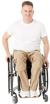 Iz Adaptive IZ Adaptive Seated Chino Elastic Waist (Tan) Men's Clothing