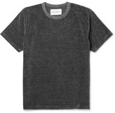 Our Legacy - Mélange Cotton-blend Velour T-shirt