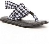 Sanuk Yoga Sling 2 Prints Gingham Stretch Sandals
