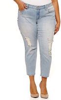 Boutique + + Slim Fit Embellished Jeans-Plus