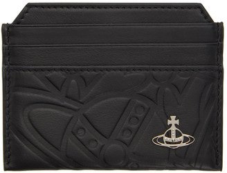 Vivienne Westwood Black Slim Belfast Card Holder