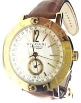 Bulgari GMT BB38GLAC 13 Yellow Gold 38mm Watch
