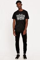 Urban Outfitters T-shirt Boom Box Black Tee