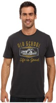 Life is Good Old School Pickup Truck Crusher Tee