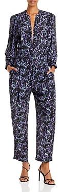 IRO Lanta Printed Jumpsuit