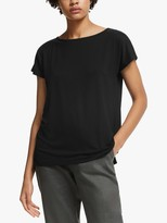 John Lewis & Partners Lyocell Slash Neck T-Shirt
