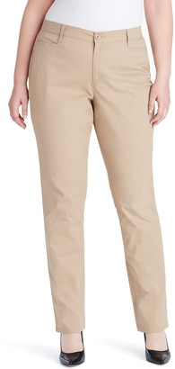 Gloria Vanderbilt Plus Size Amanda Classic Tapered Trouser Pants
