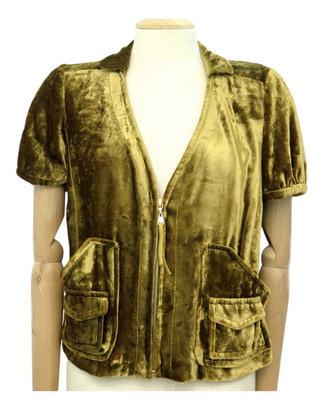 Louis Vuitton Yellow Velvet Jackets