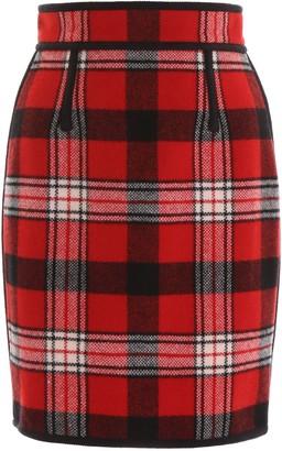 DSQUARED2 Check Mini Skirt