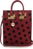 Sophie Hulme Mini Albion polka-dot leather tote