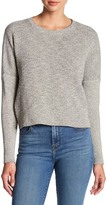 J Brand Vignes Ribbed Cropped Sweater