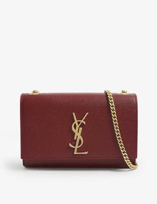 Saint Laurent Kate small monogram leather shoulder bag