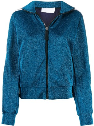NO KA 'OI Glitter Detail Sports Jacket
