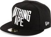 A Bathing Ape New Era Cotton Snapback Cap