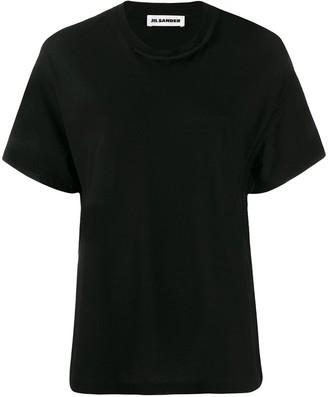 Jil Sander knitted details T-shirt