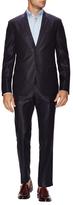 Fendi Wool Textured Notch Lapel Suit