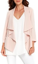 Wallis Women's Daisy Crepe Waterfall Jacket