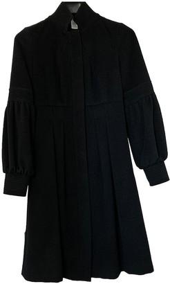 Diane von Furstenberg Black Wool Coat for Women