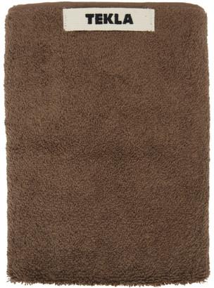 Tekla Brown Hand Towel