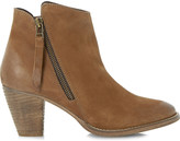 Dune Pollie leather ankle boots