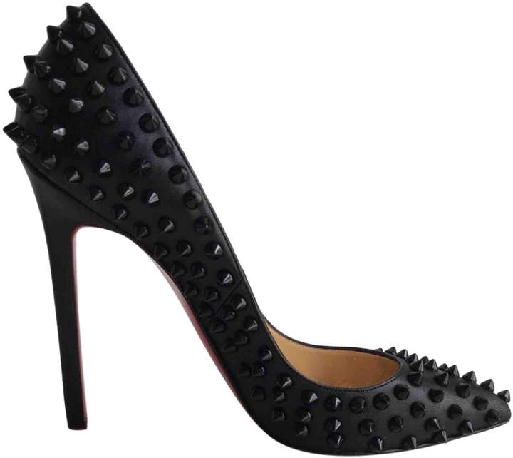 Christian Louboutin Pigalle leather heels