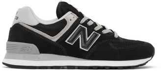 New Balance Black 574 Core Sneakers