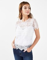 Lipsy All Over Lace Top