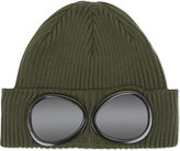 Cp Company Google Knitted Cotton Beanie