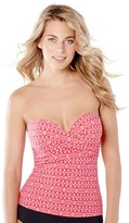 Christina Sunset Reflection Bandeau Tankini Separate