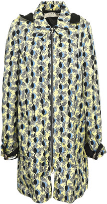 Marni Printed Twill Hooded Jacket