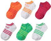 adidas Girls climalite SuperLite 6-pk. No-Show Socks