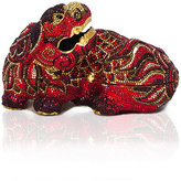 Judith Leiber Couture Ming Foo Dog Minaudiere, Crimson Red