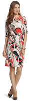 Chico's Multi-Print Swirl Dress