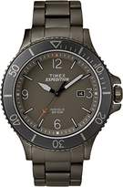Timex Men's Expedition Ranger Grey Dial with a Stainless Steel Bracelet Watch TW4B10800