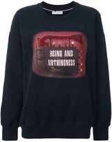 Each X Other 'Being and Nothingness' sweatshirt - women - Cotton - S