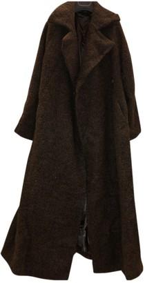 Jil Sander Brown Fur Coat for Women Vintage