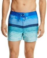 Sundek Ocean Photo Swim Trunks