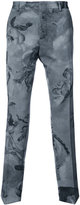 Moschino angel motif trousers