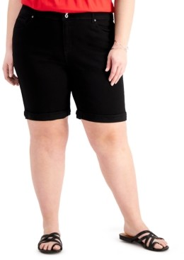 Style&Co. Style & Co Plus Size Bermuda Shorts, Created for Macy's