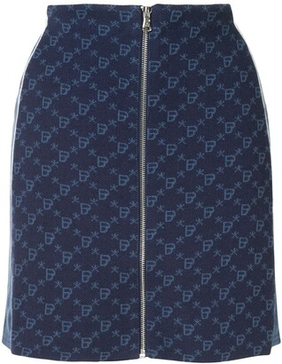 BAPY BY *A BATHING APE® Fitted Monogram Skirt