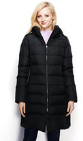 Classic Women's Chalet Down Coat-Jet Black Melange