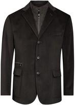 Corneliani Dark Brown Twill Jacket