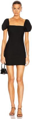 Cinq à Sept Havana Dress in Black | FWRD